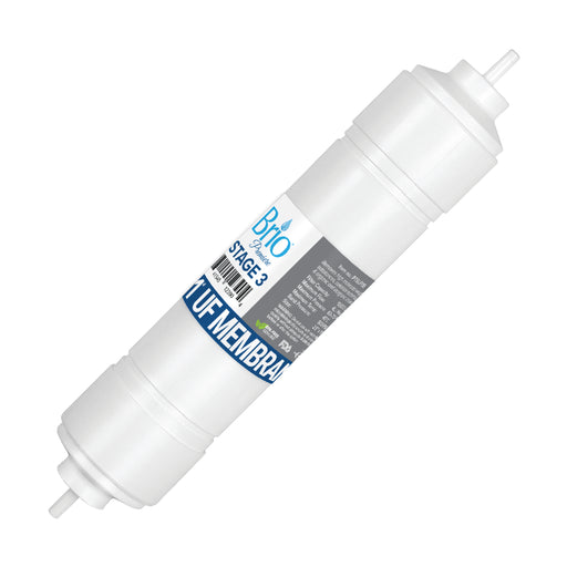 "Brio 2.5"" x 11"" S-Type Ultrafiltration Replacement Membrane w/ 1,200 ml capacity"