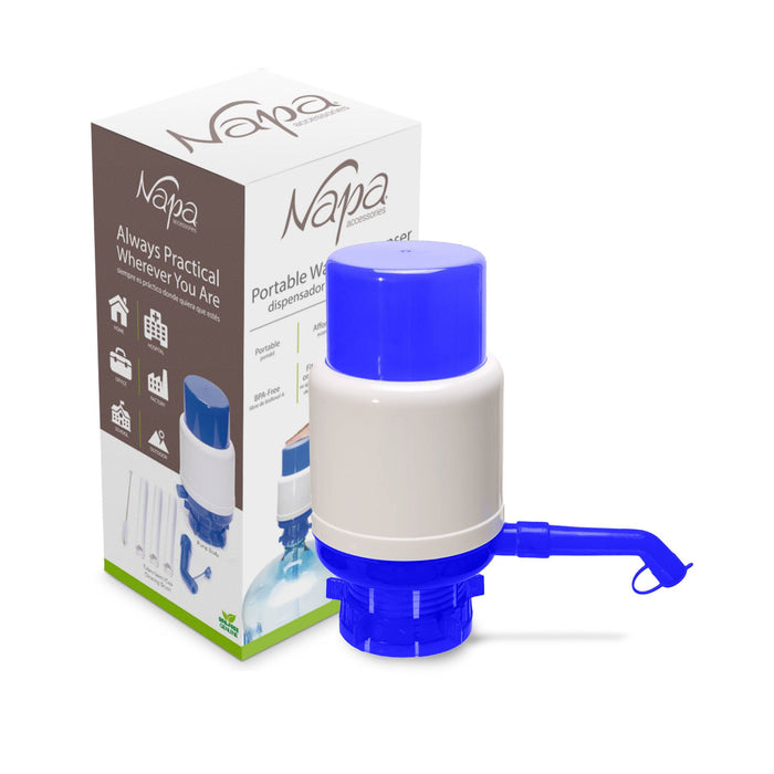 Manual Water Pump for 5-Gallon Crown Top Water Bottles