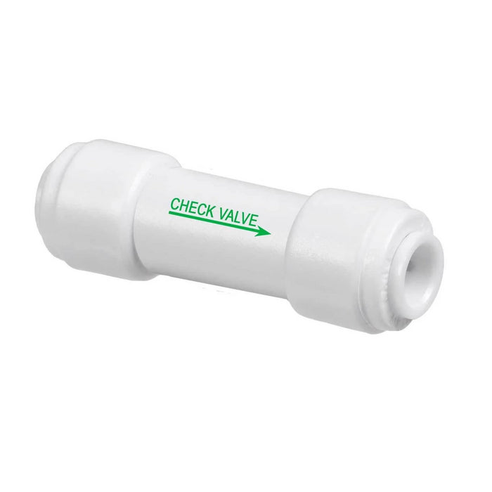 One Way Check Valve with 1/4 inch Inlet & Outlet