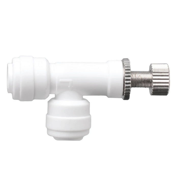"Flow Regulating Valve with 1/4"" Inlet & Outlet"