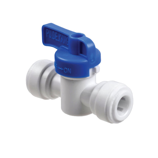 Straight OD Female Tube Valve with Push Fit Inlet & Outlet