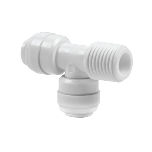 Three Sided, Swivel Male Run Tee Adapter
