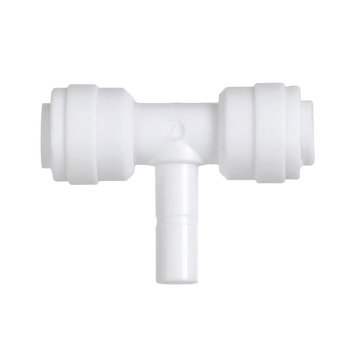 Three Sided, Stem Plug Tee with Push Fit Inlets & Outlet