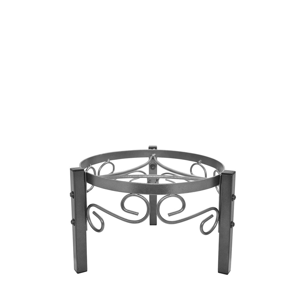 8-Inch Black Metal Counter Stand