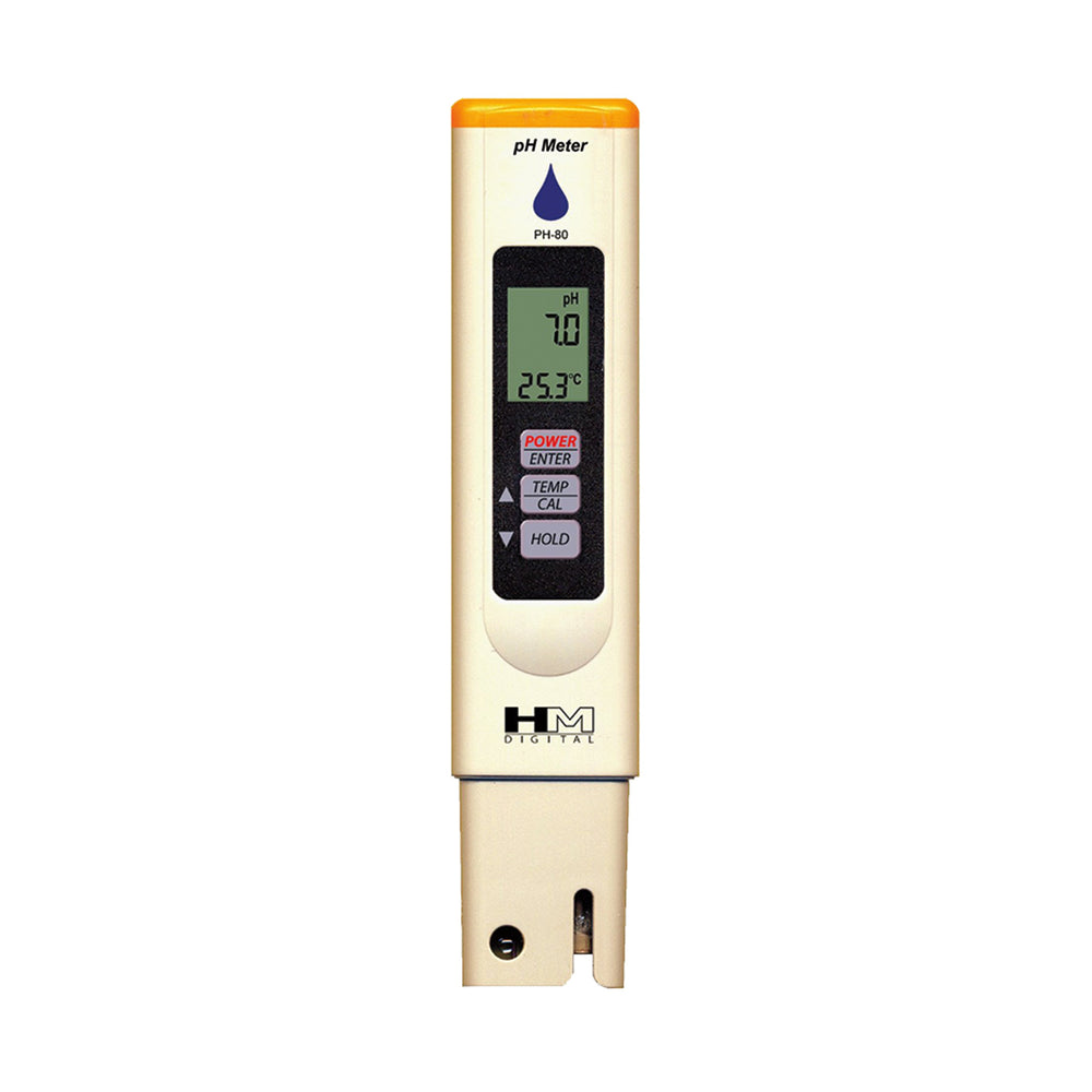 Hm Ph80,tds Ph/Temp Meter Tester W/Case.