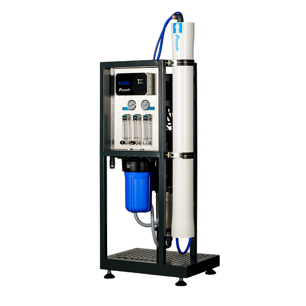 Commercial Reverse Osmosis System, Water Filter System, 75 GPH, Ecosoft MO 6500