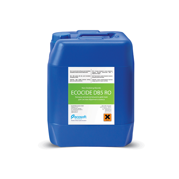 Ecosoft Ecocide DB5 RO Biocide 10 kg