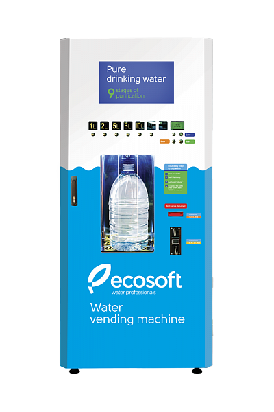 Water Vending Machine, Bottle Filling Machine, Ecosoft RO KA-250