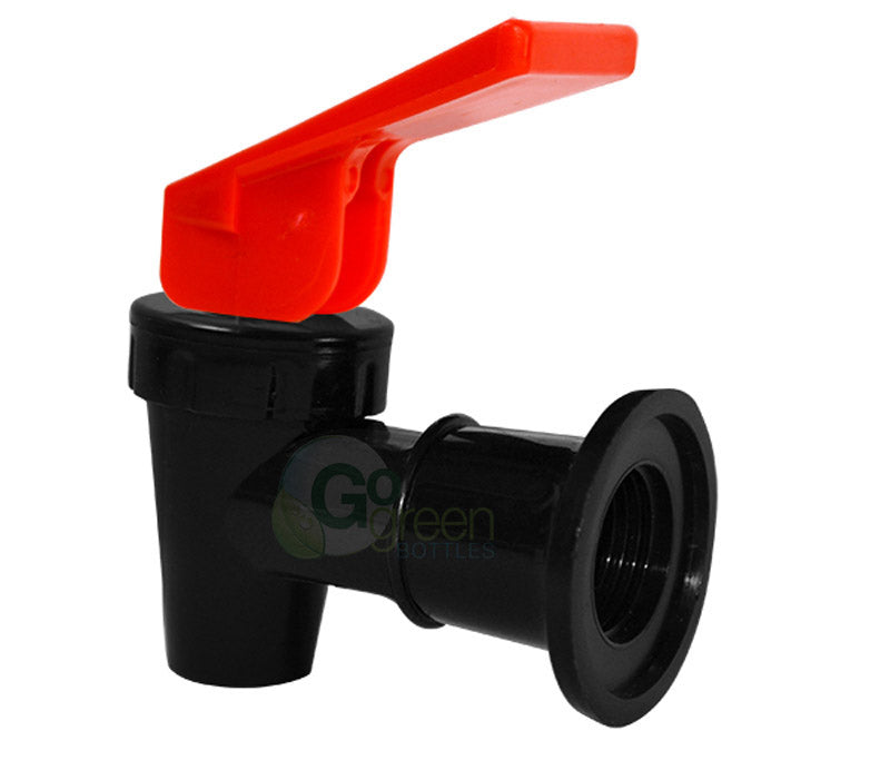 Replacement Water Spigot, Red with Black Body