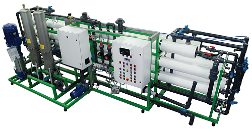 Industrial reverse osmosis system Ecosoft MO-30
