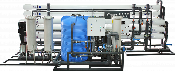 Industrial reverse osmosis system Ecosoft MO-50
