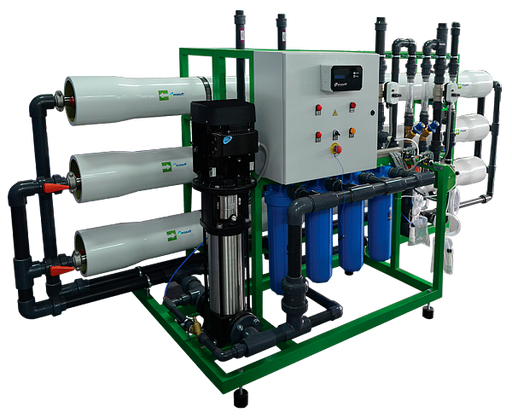 Industrial reverse osmosis system Ecosoft MO-9