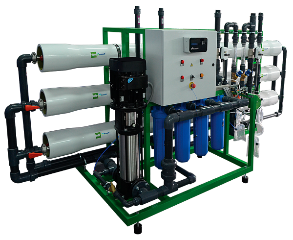 Industrial reverse osmosis system Ecosoft MO-12