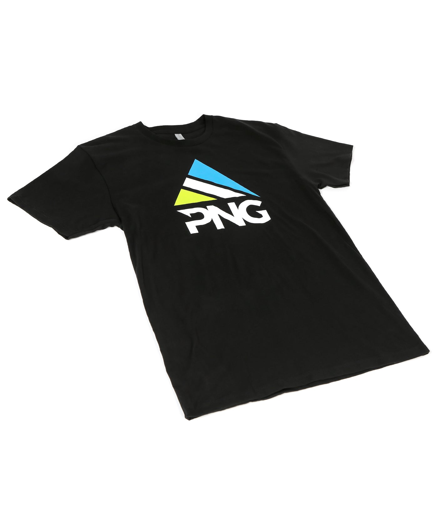 Mens Short Sleeve Tri-Color Stacked T-Shirt - Pinnacle Nutrition Group
