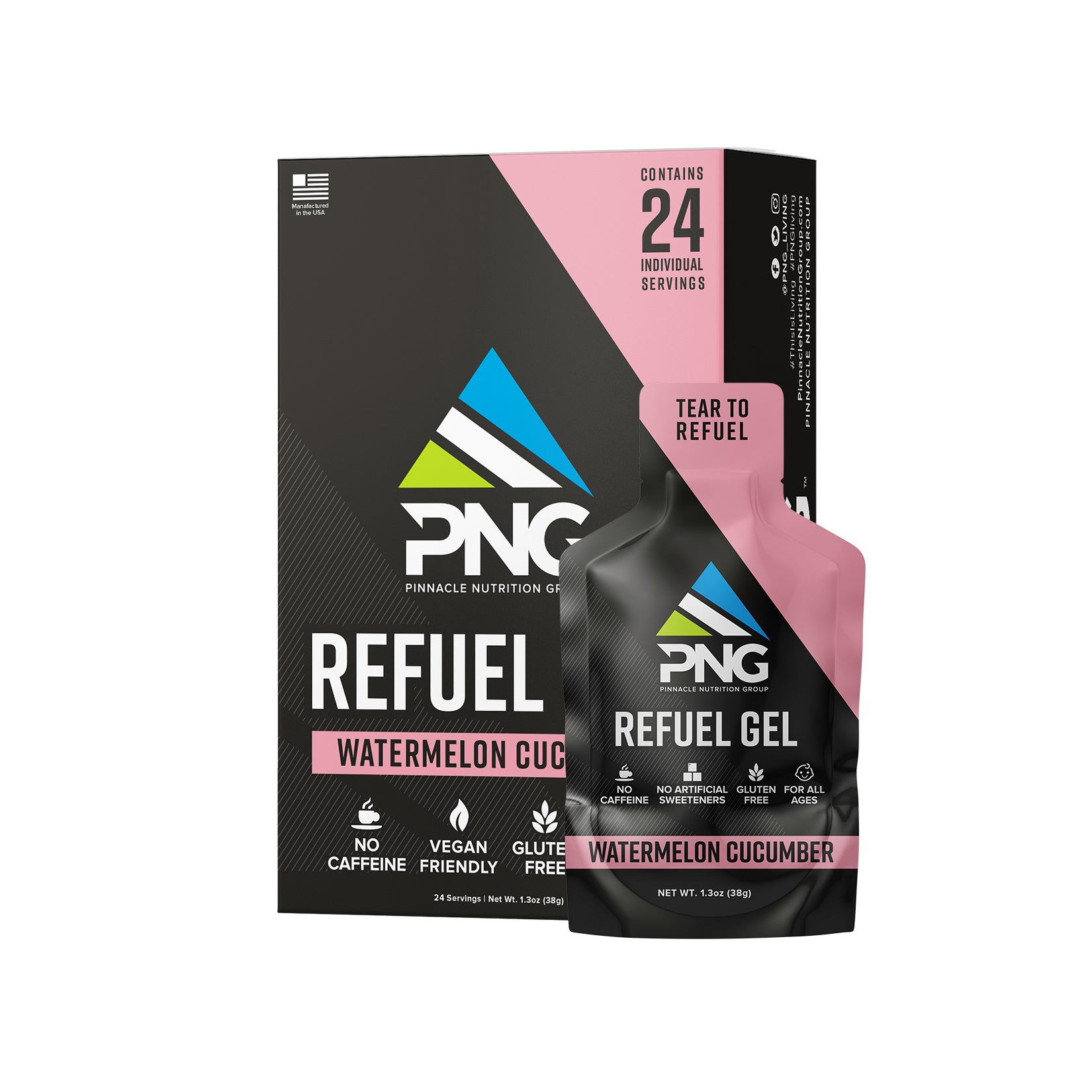 Refuel Gel - Pinnacle Nutrition Group