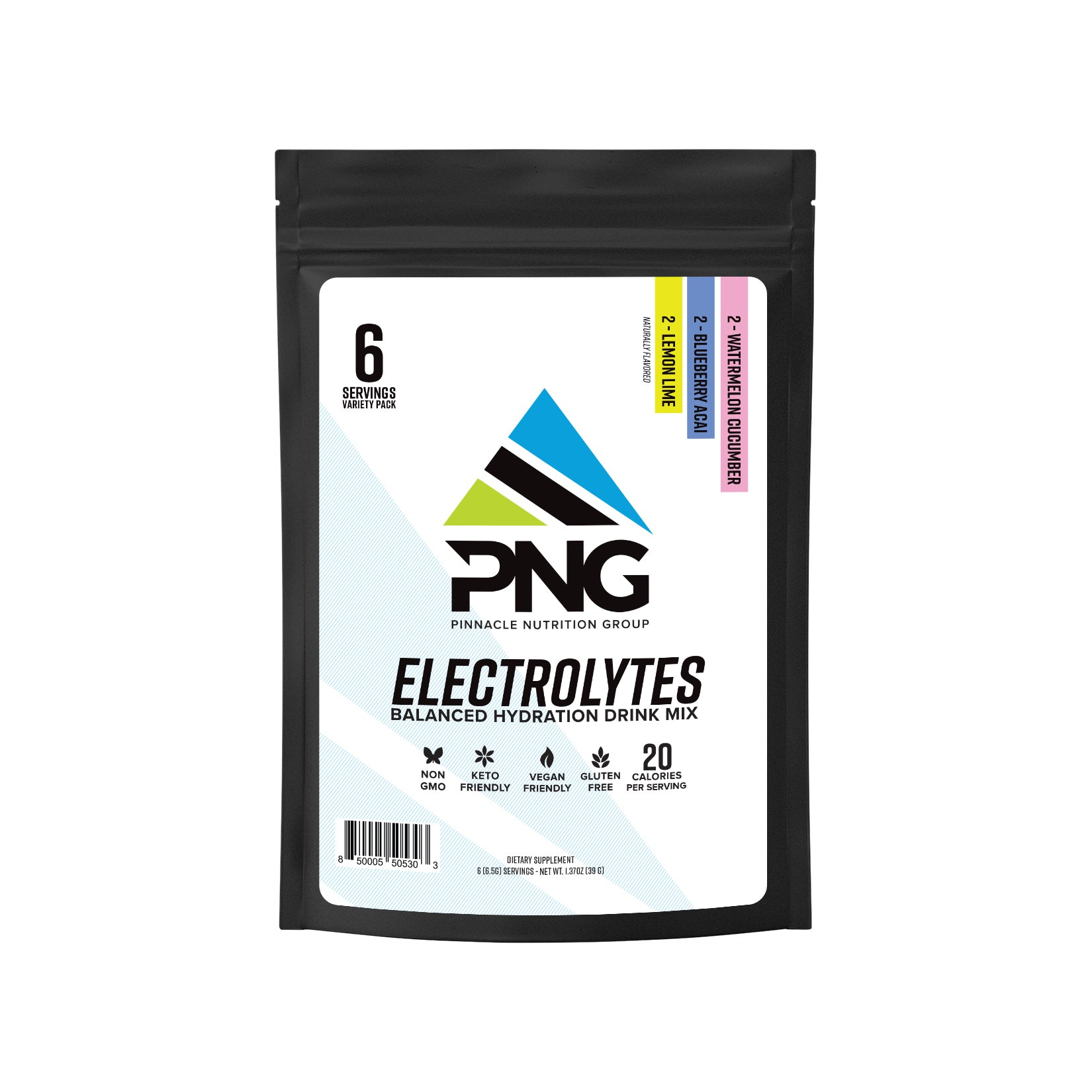 Electrolytes Sampler (6 Servings)