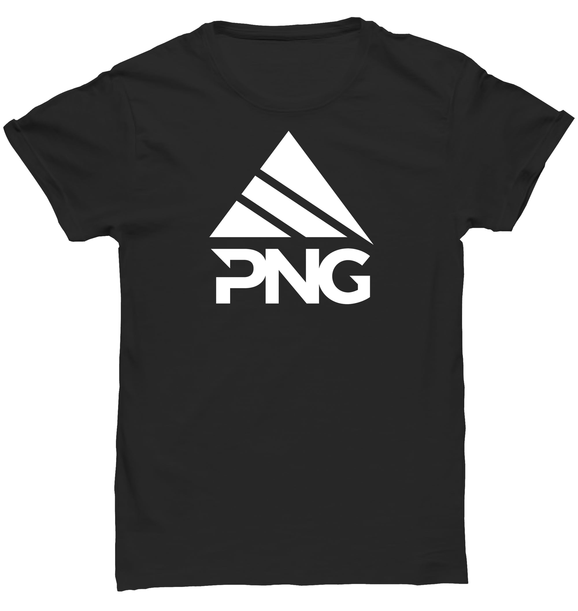 Womens Short Sleeve Stacked White Logo T-Shirt - Pinnacle Nutrition Group