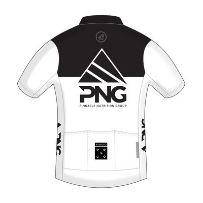 PNG Raw Cycling Jersey - Pinnacle Nutrition Group