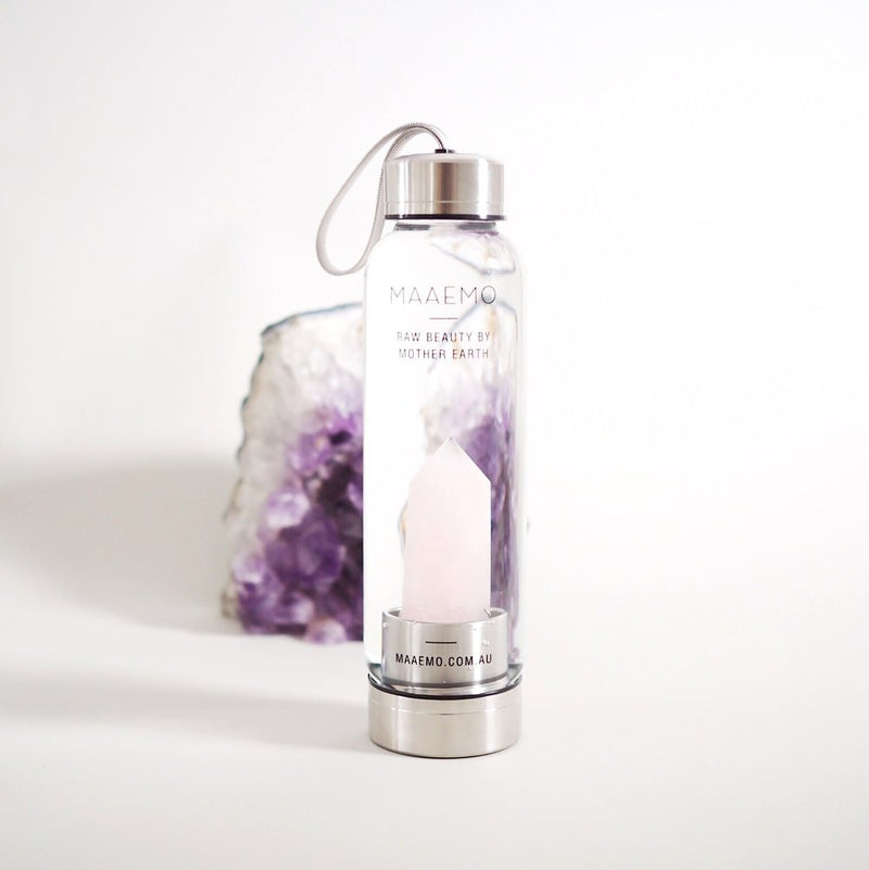 Rose Quartz Crystal Infusion™ Bottle - No.2 Organics