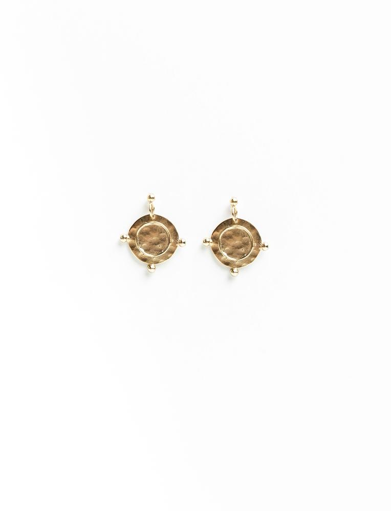 Compass Earrings - No.2 Organics