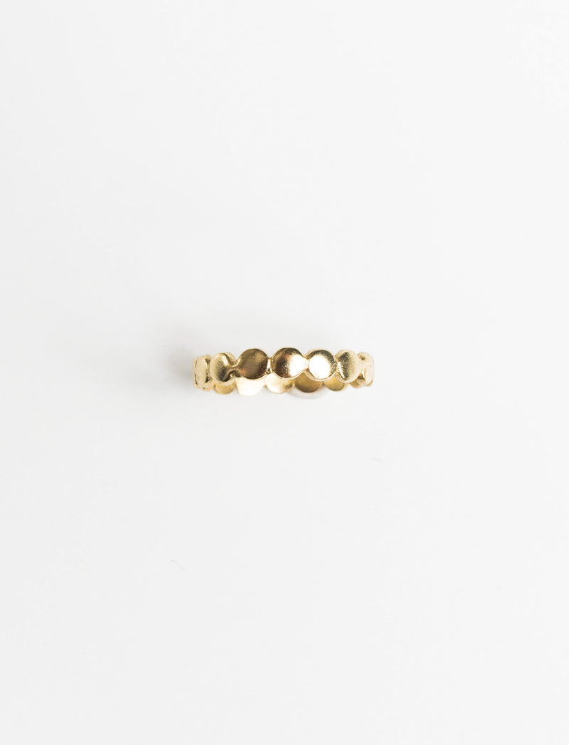 CONNECTED DOTS RING - No.2 Organics