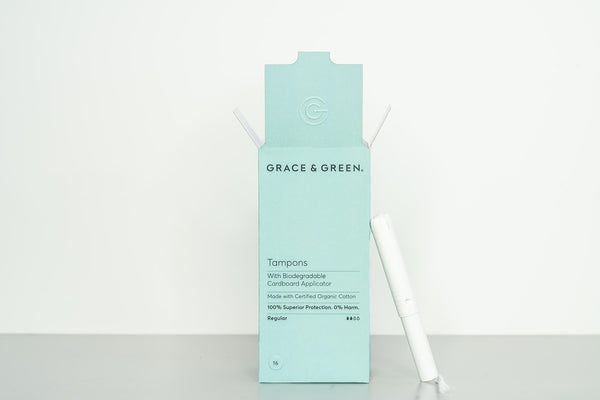 Organic Applicator Regular Tampons
