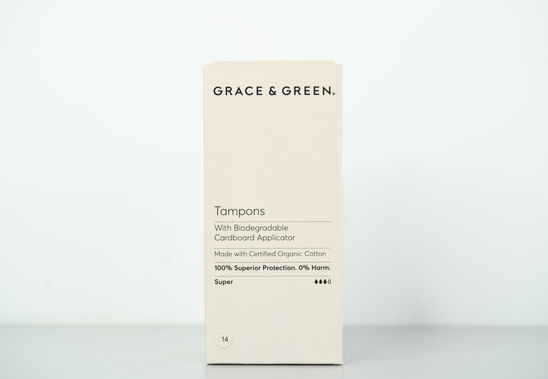 Organic Applicator Super Tampons