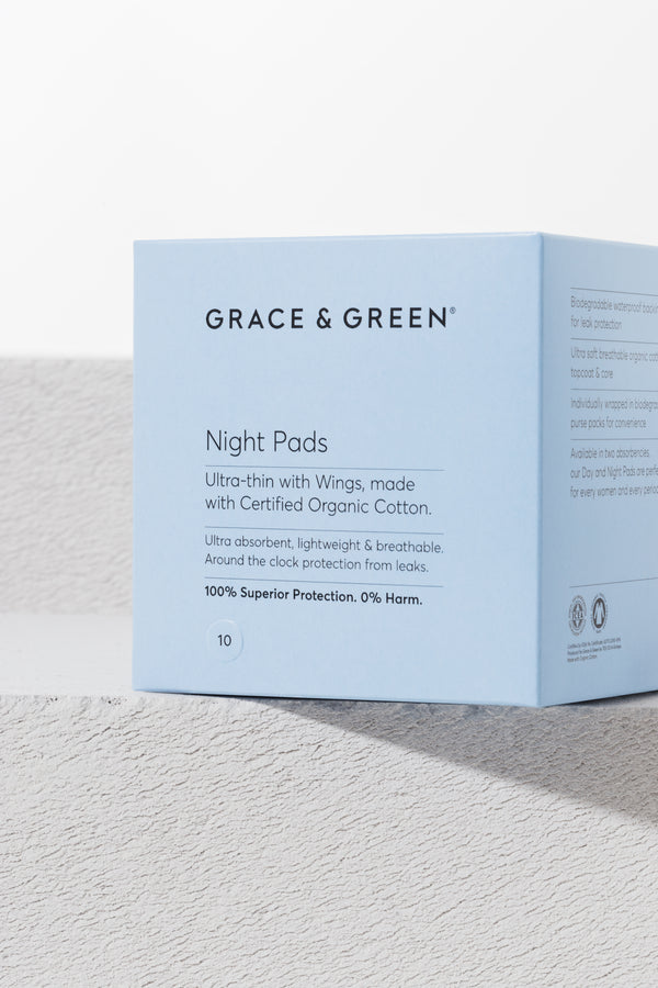 Organic Cotton Night Pads - No.2 Organics