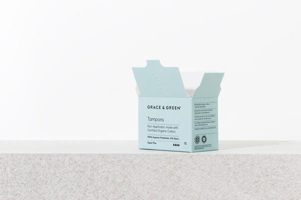 Organic Cotton SuperPlus Tampons (Coming soon) - No.2 Organics