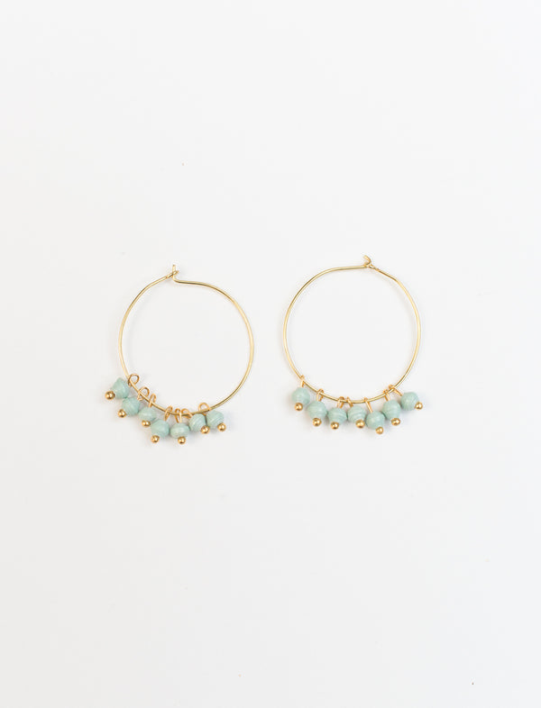 MELAH EARRINGS (MINT)