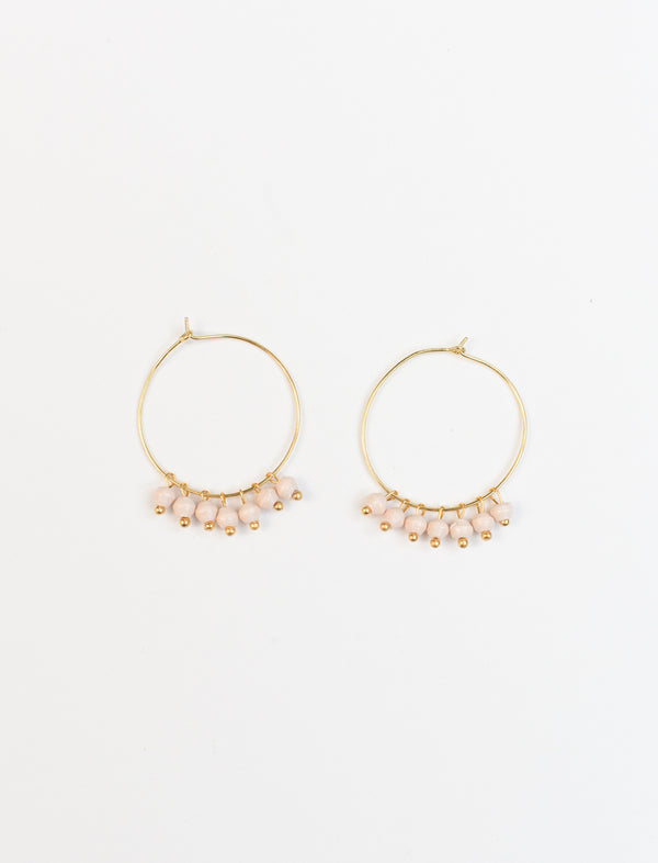 MELAH EARRINGS (CREAM) - No.2 Organics