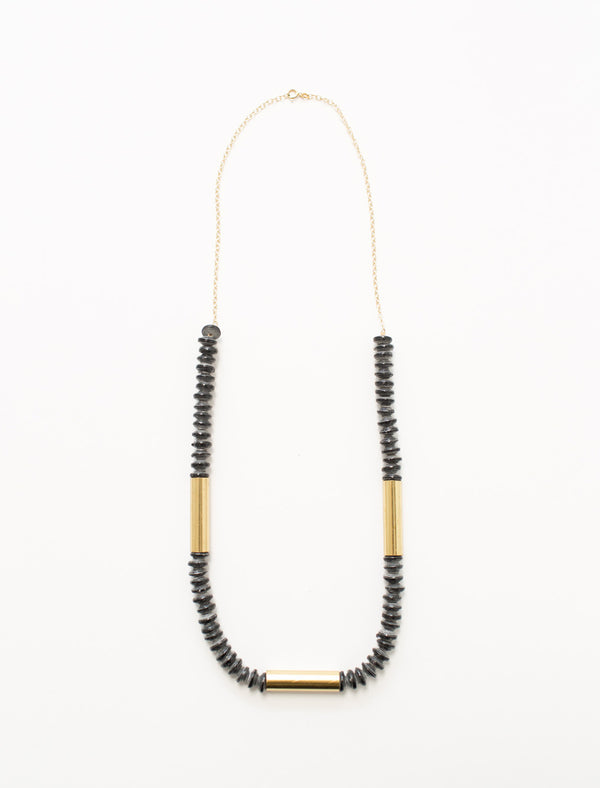 THE JETSETTER NECKLACE (BLACK) - No.2 Organics