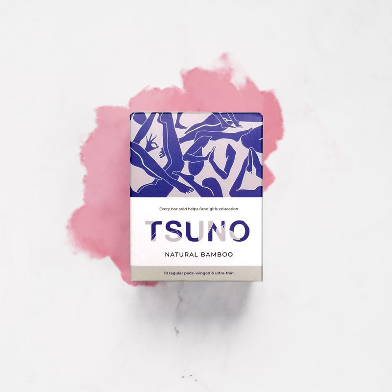 Tsuno - Biodegradable Regular Pads - No.2 Organics