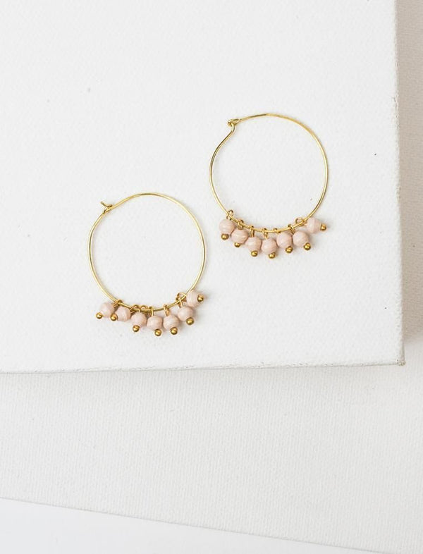 MELAH EARRINGS (CREAM)