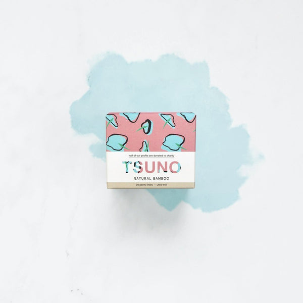 Tsuno - Biodegradable Panty Liners