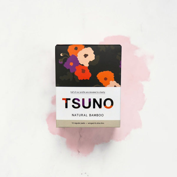 Tsuno - Biodegradable Regular Pads