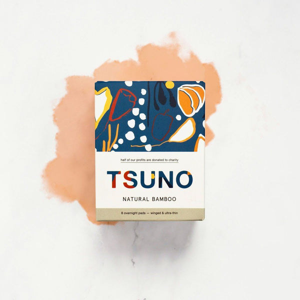 Tsuno - Biodegradable Overnight Pads