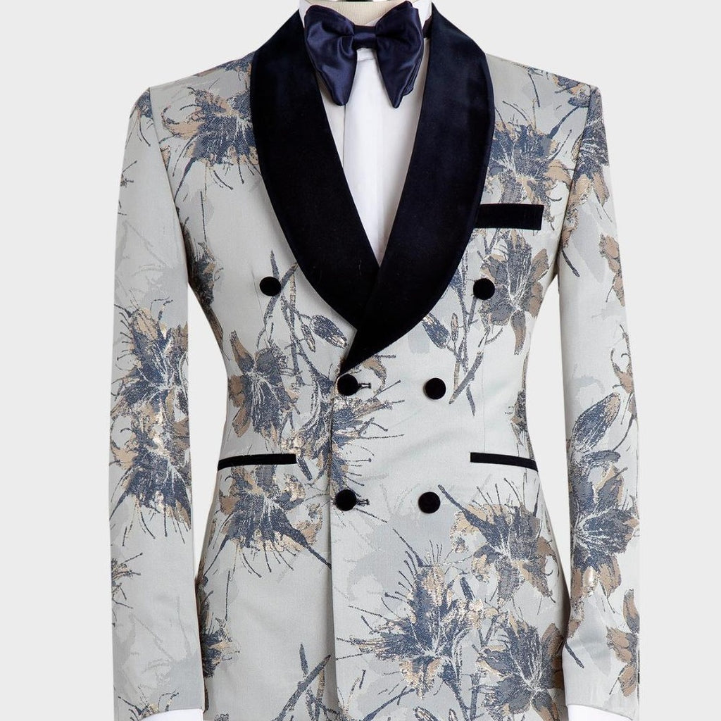 Double Breasted Jacket White