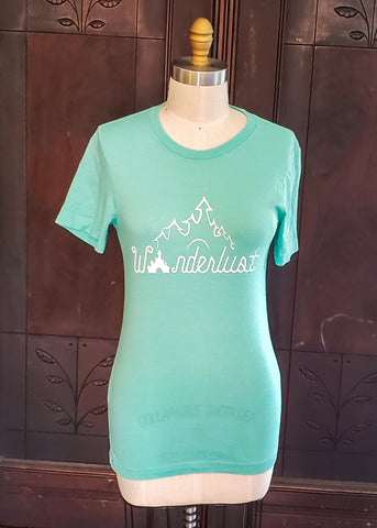 Wanderlust T-shirt (Small)