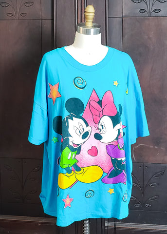 Vintage Mickey & Minnie Tee (2XL