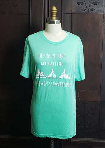 The Mountains are Calling T-shirt (Large)