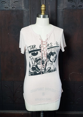 Princess Leia Lace-Up Shirt (Medium)