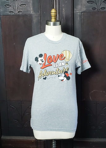 """Love is an Adventure"" T-shirt (Small)"
