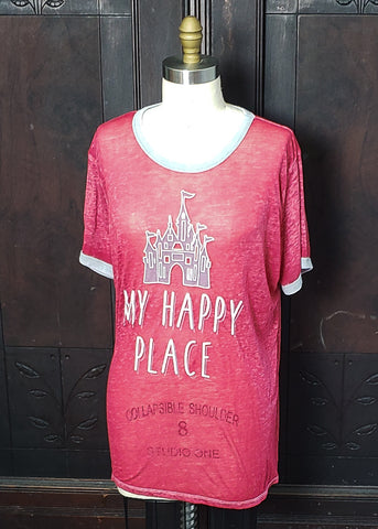 My Happy Place T-shirt (XL)