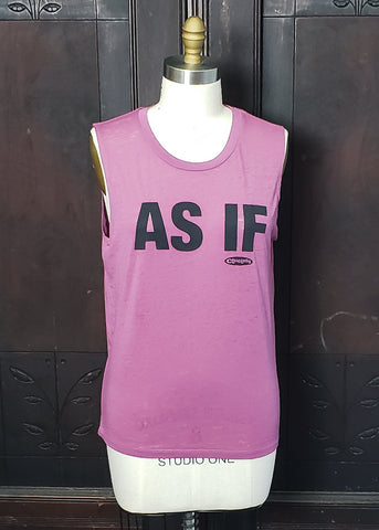 """As If"" Tank Top (Large)"