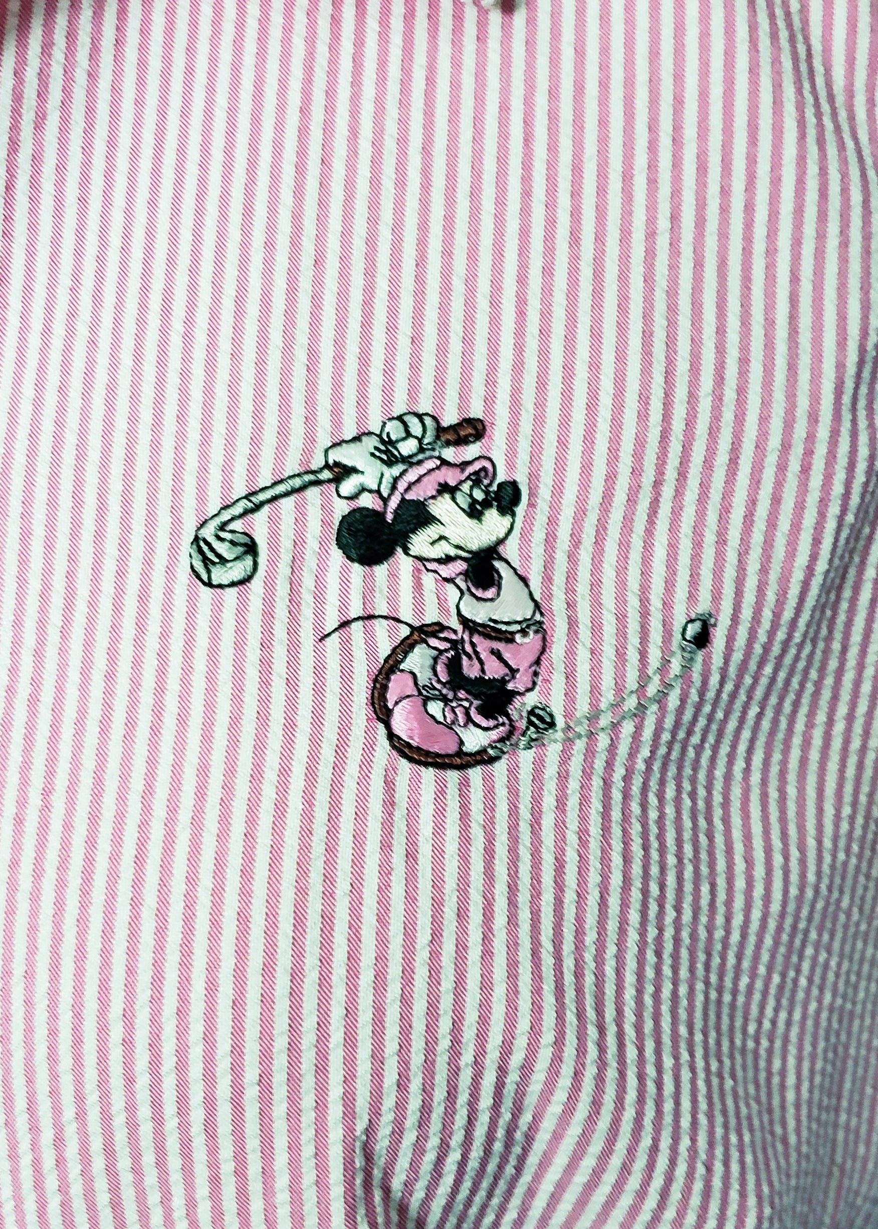 Vintage Mickey Golf Shirt (Large)