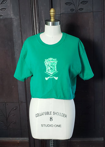 Slytherin Crop Top (Large)