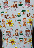 All-over Chip and Dale Tee (XL)