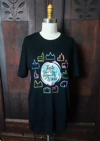 Taste Your Way Around the World Tee (Large)