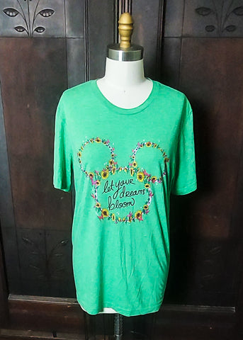 Let Your Dreams Bloom Tee (Large)